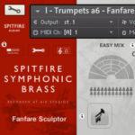 Spitfire Symphonic Brass レガートとFanfareパッチの使い方